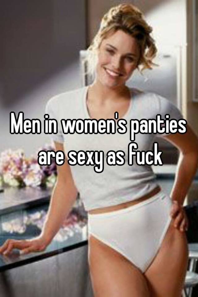 Men in panties fucking women