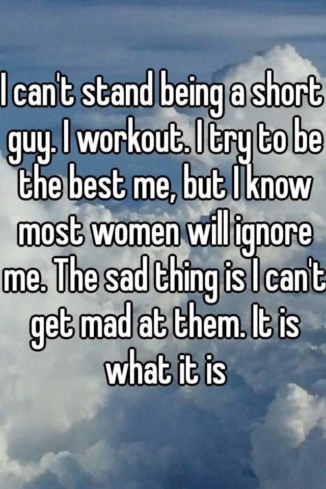 Do short guys stand a chance