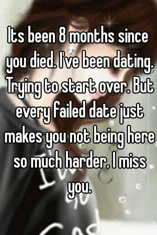 Dating start over