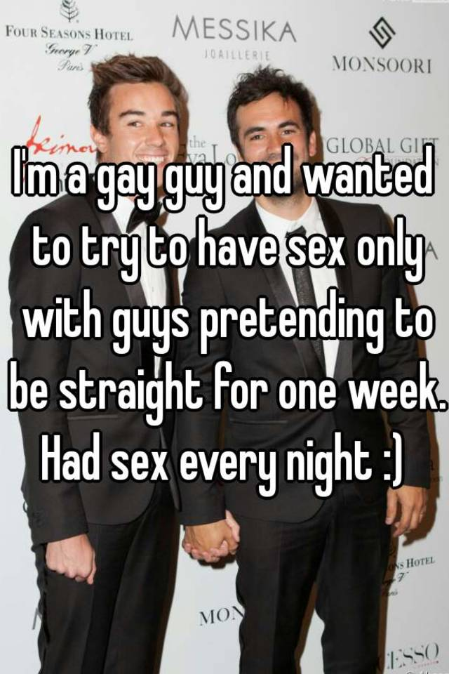 This guy has sex every night