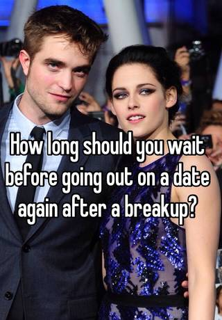 How long should you leave it before dating again