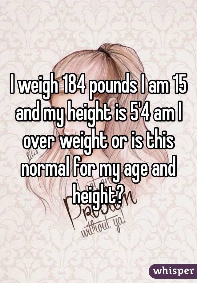What height should i be for my age