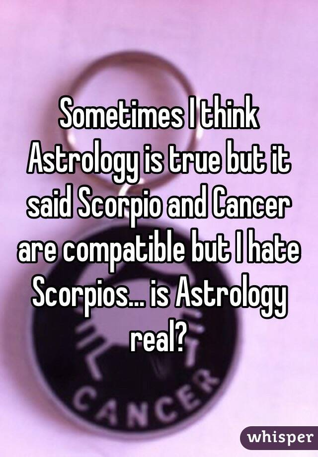 Scorpios hate do why people Things That