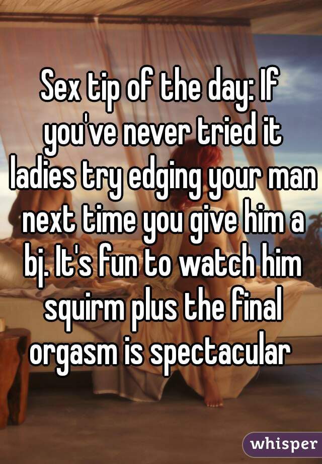 Variant possible Sex tips for ladies you head