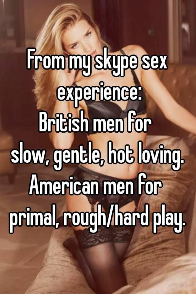 Skype sex men