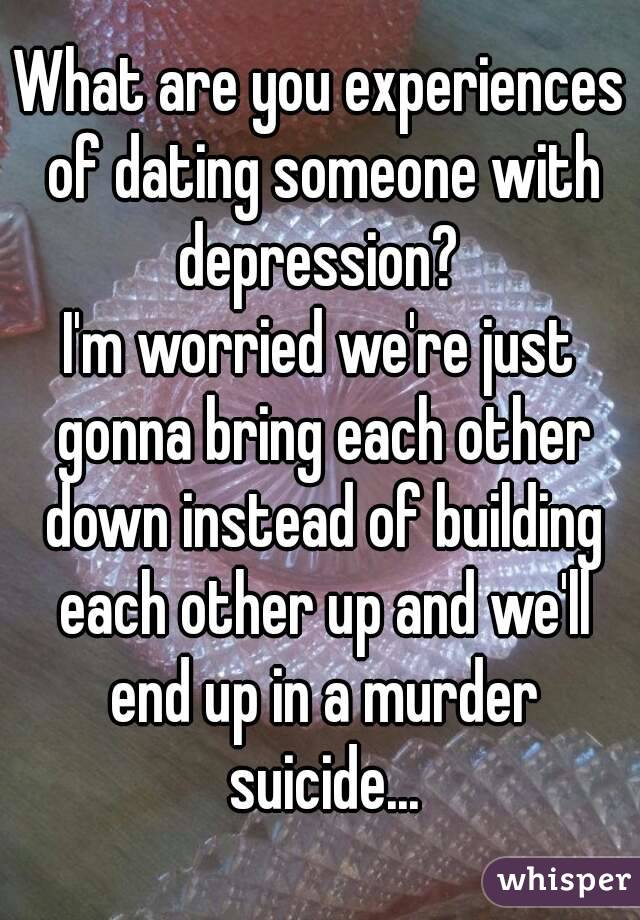 Dating a woman with depression