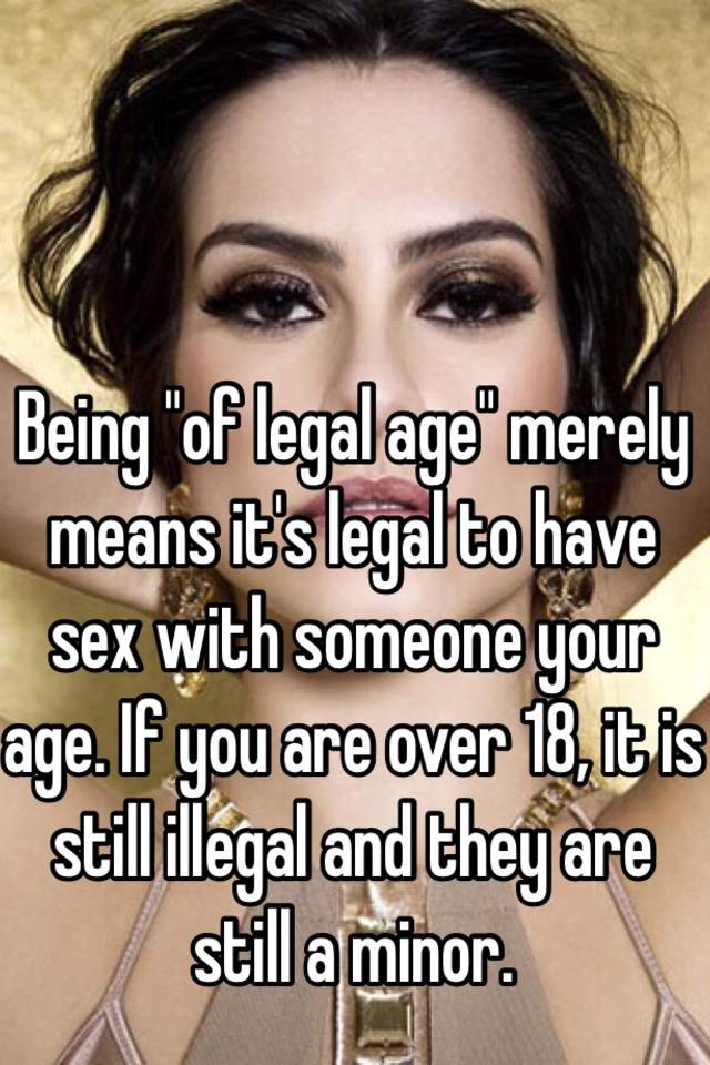 Sex images legal over 18