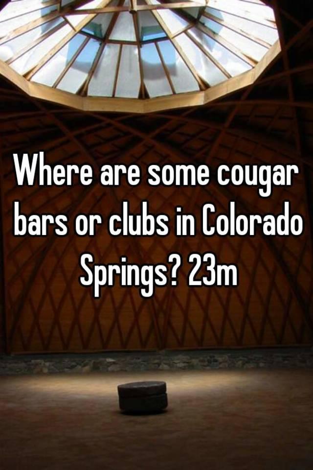 Cougar bars colorado springs
