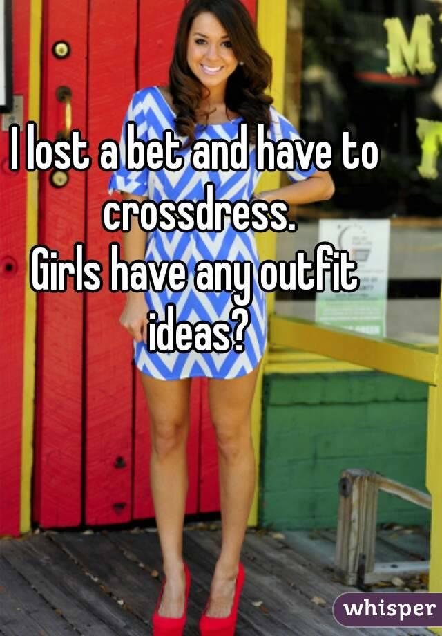 Crossdress girls