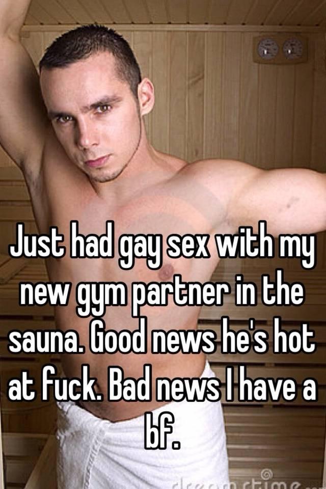 Gay sex with my boyfriend