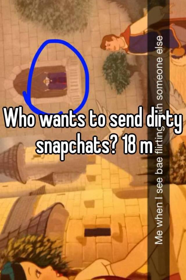 Dirty snapchats
