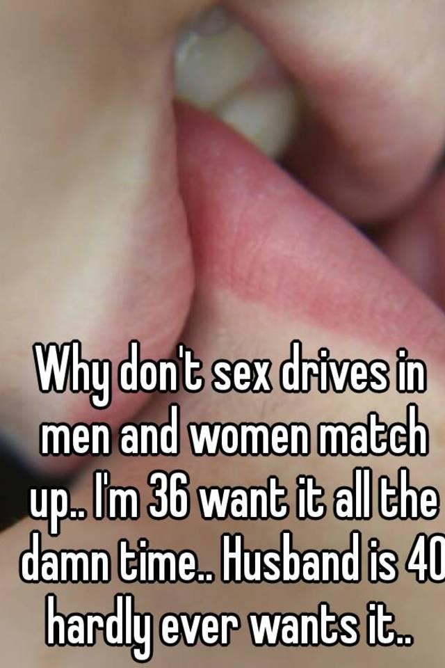 When sex drives dont match