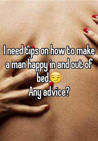 JEANNIE: How to make a man happy in bed tips