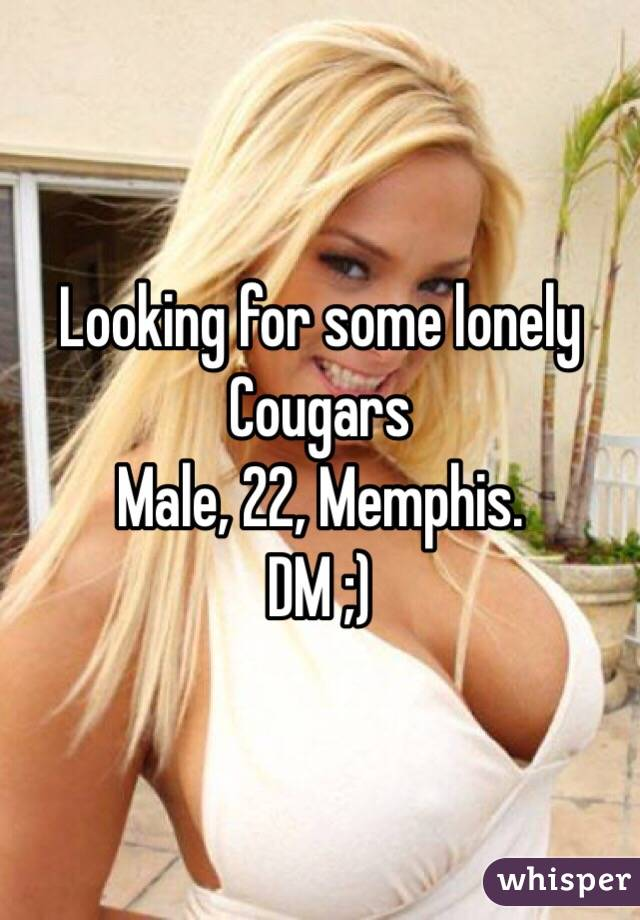 lonely cougars