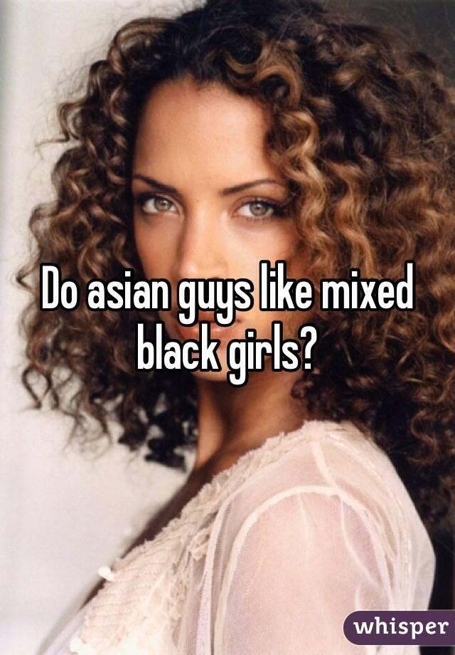 Why do black guys like asian women