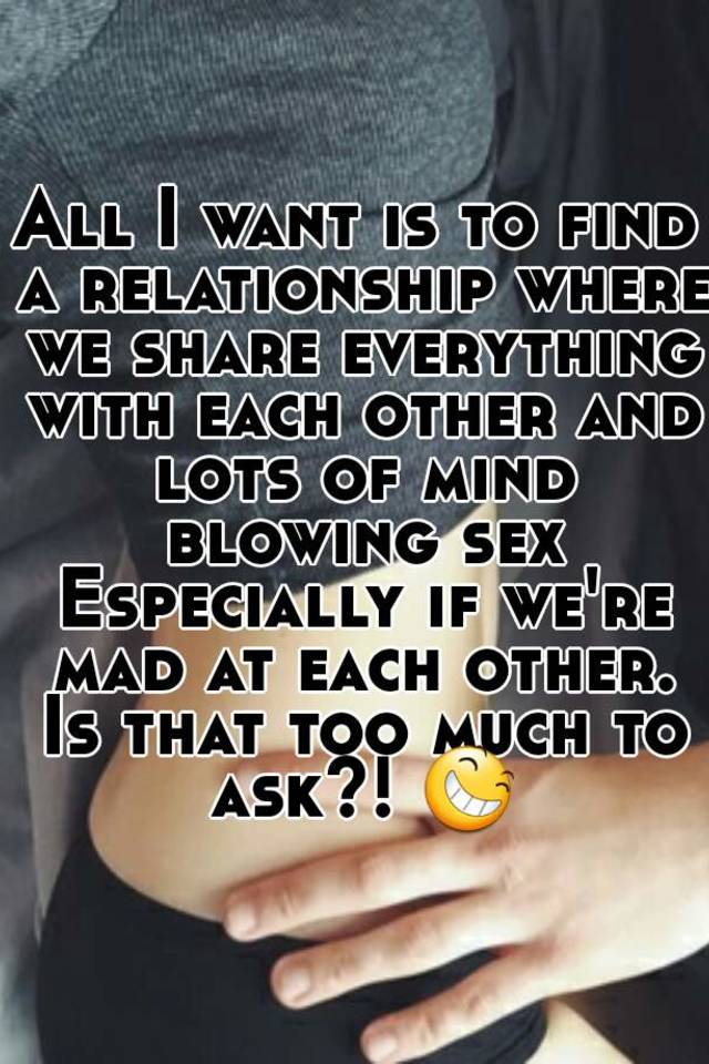 How much is too much sex in a relationship
