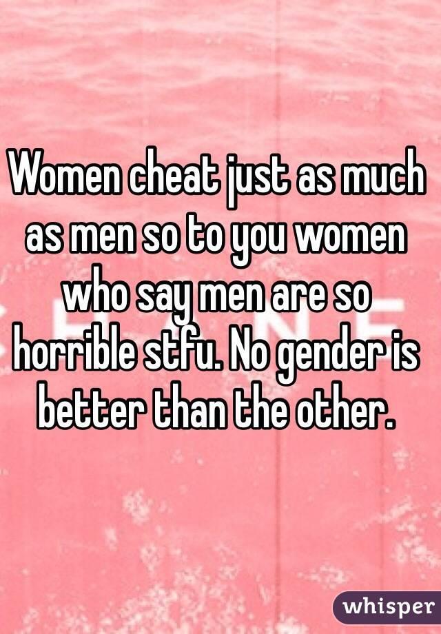 Do Women Cheat As Much As Men