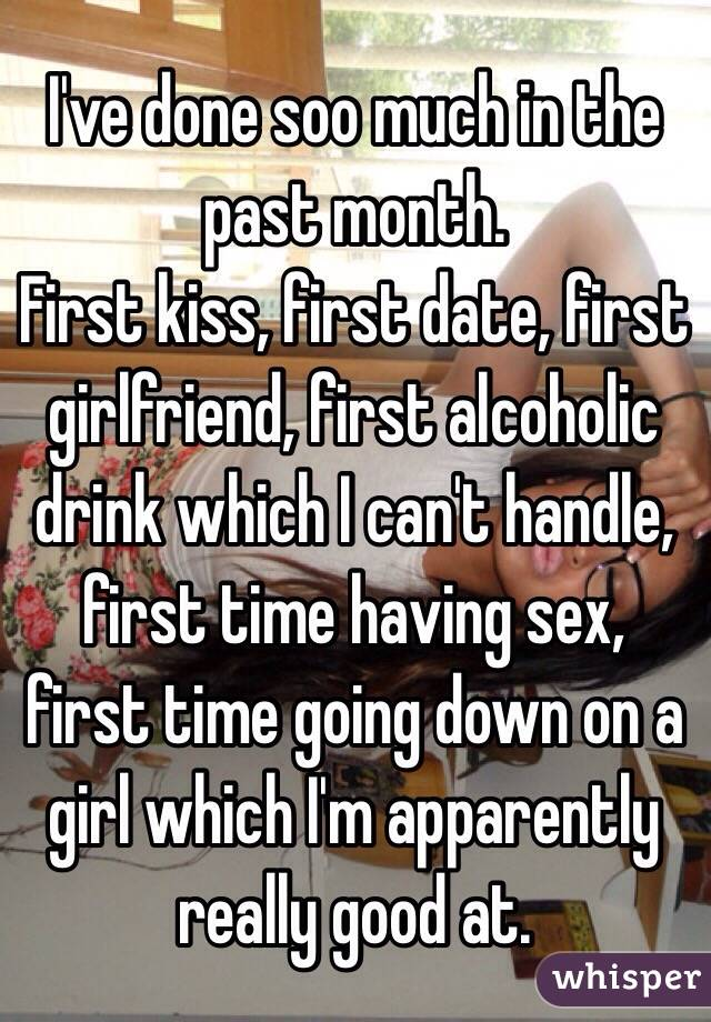 Im Dating A Girl For The First Time