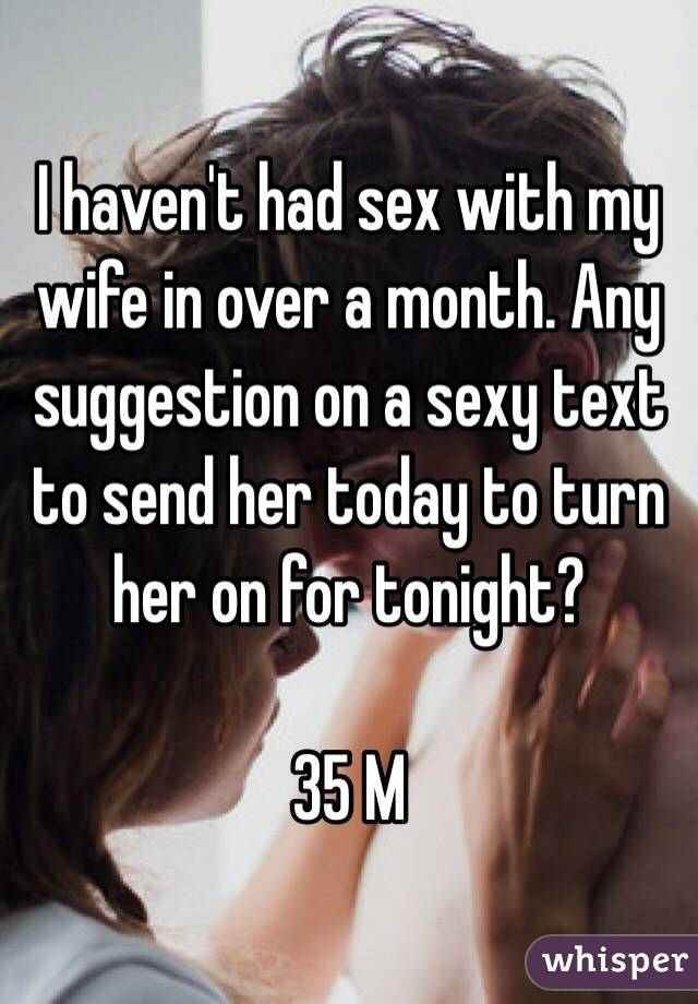 Sexy texts to turn her on