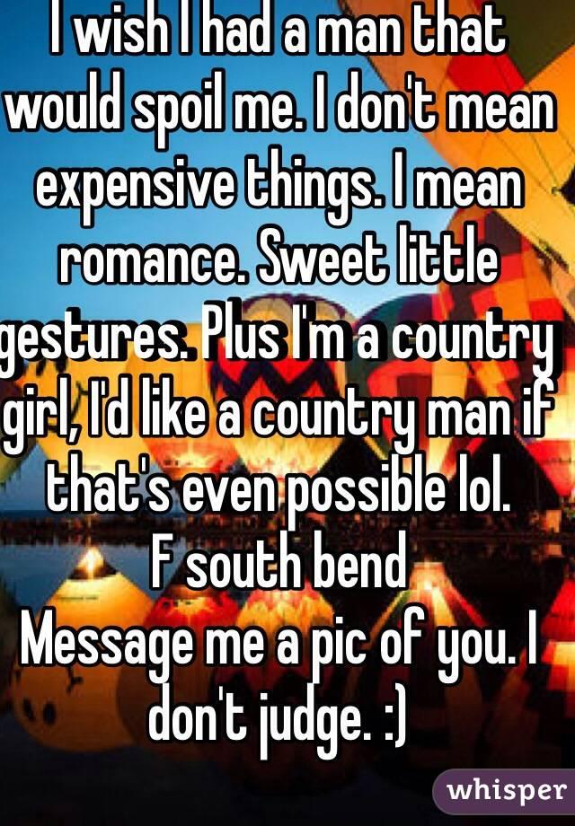 I wish i had a man