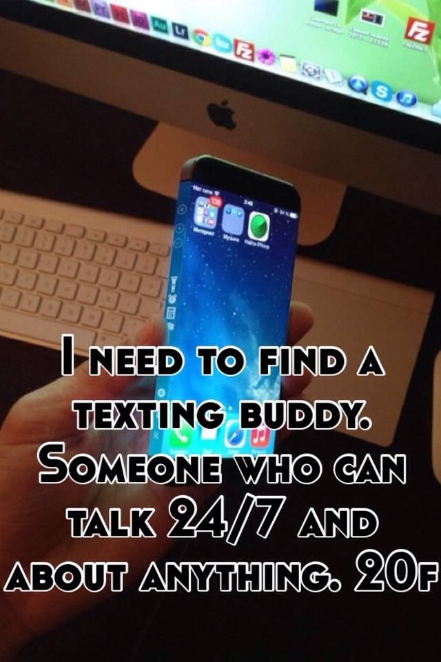 Find new texting buddies