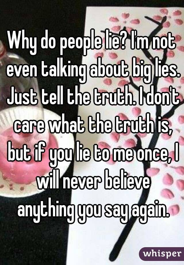what to do when people lie about you