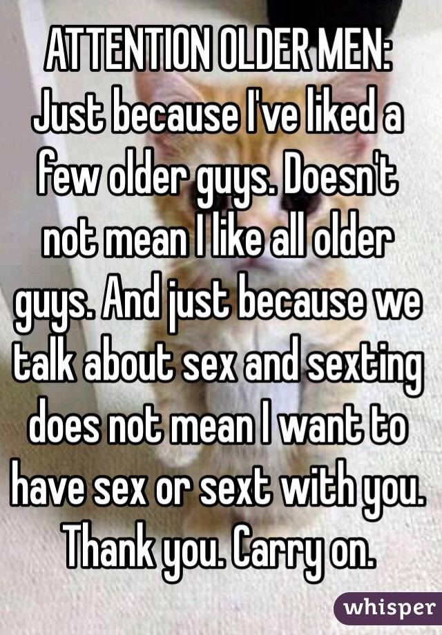 What does sexting mean to a guy
