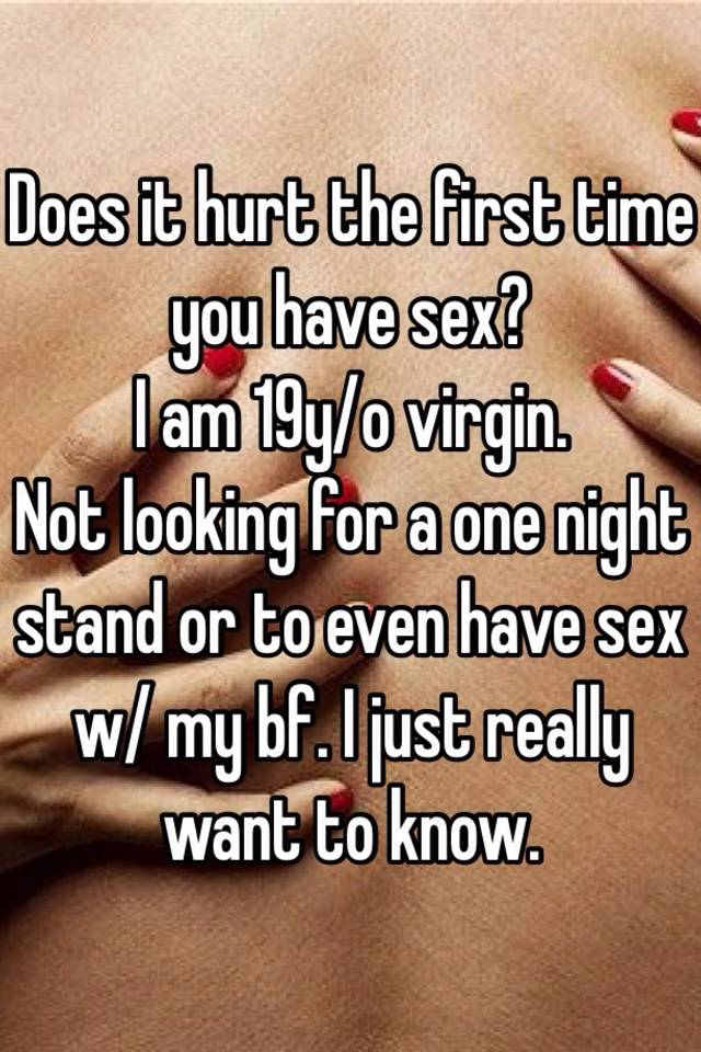 Does it hurt to have sex masturbation picture images