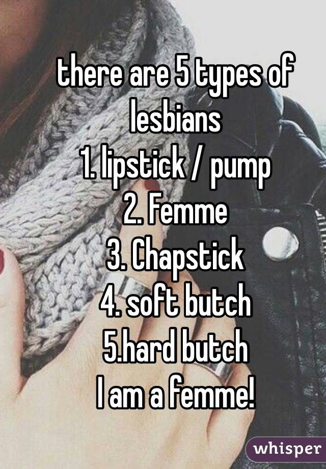 Types of butch