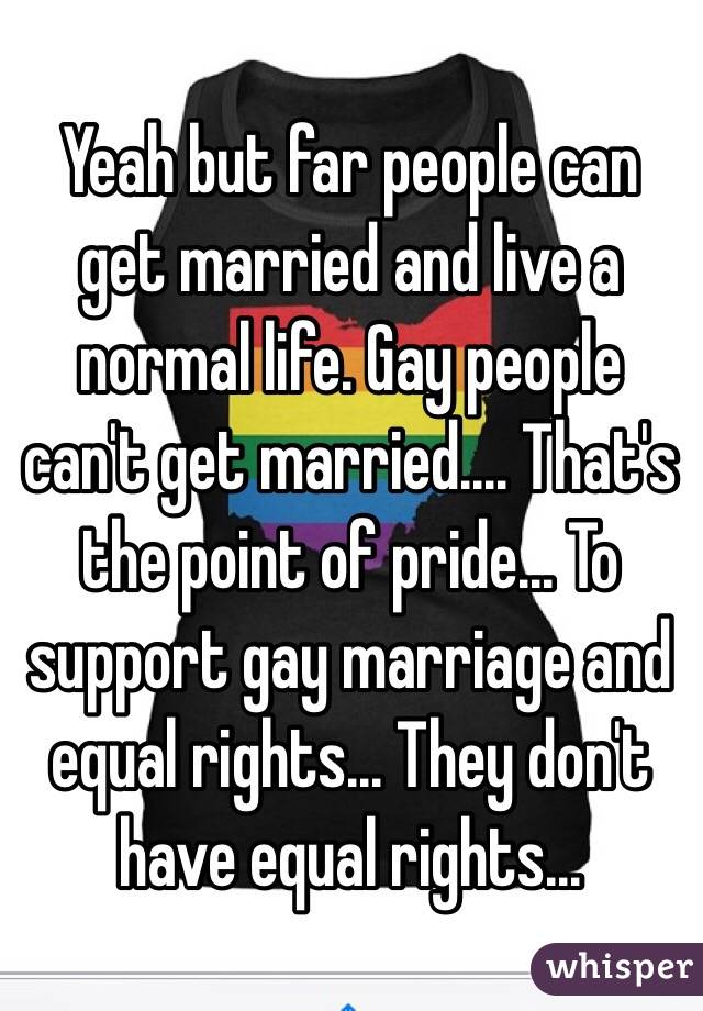 Can gay people get married