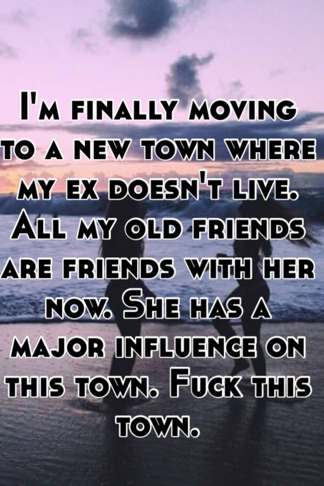 Sex in my town now