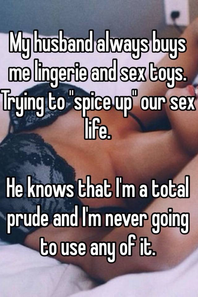 Sex toys to spice up sex