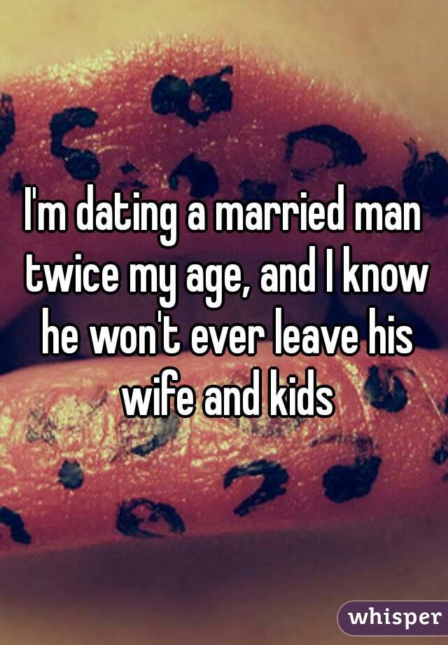 Dating as a married man