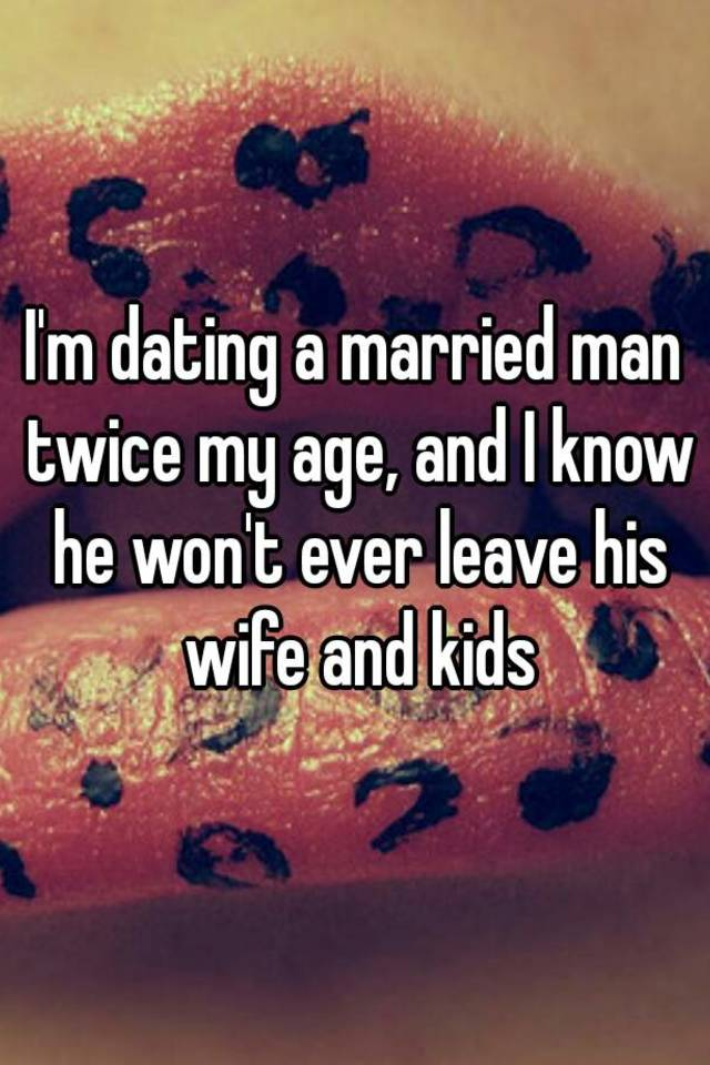 What happens when dating a married man