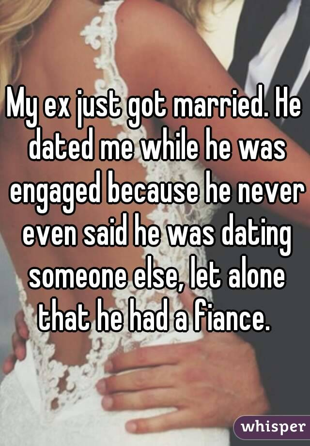 why is my ex dating already Concentrate on why you divorced him, and why you decided you didn't want to be his wife any longer i agree it seems way to soon to be dating again after the end of a relationship, but for other people that is how they seem to go through the healing process.
