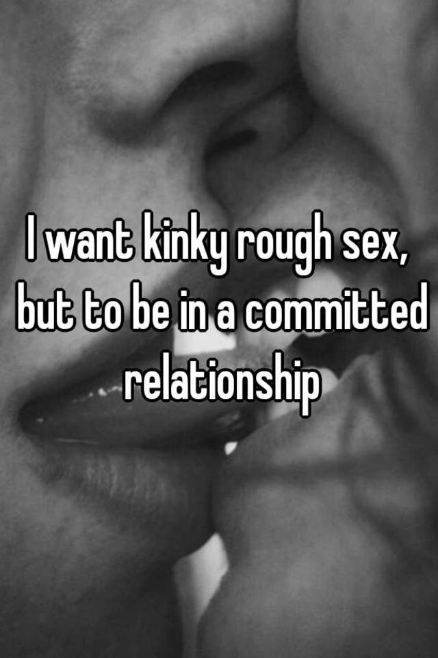 Sex in a committed relationship