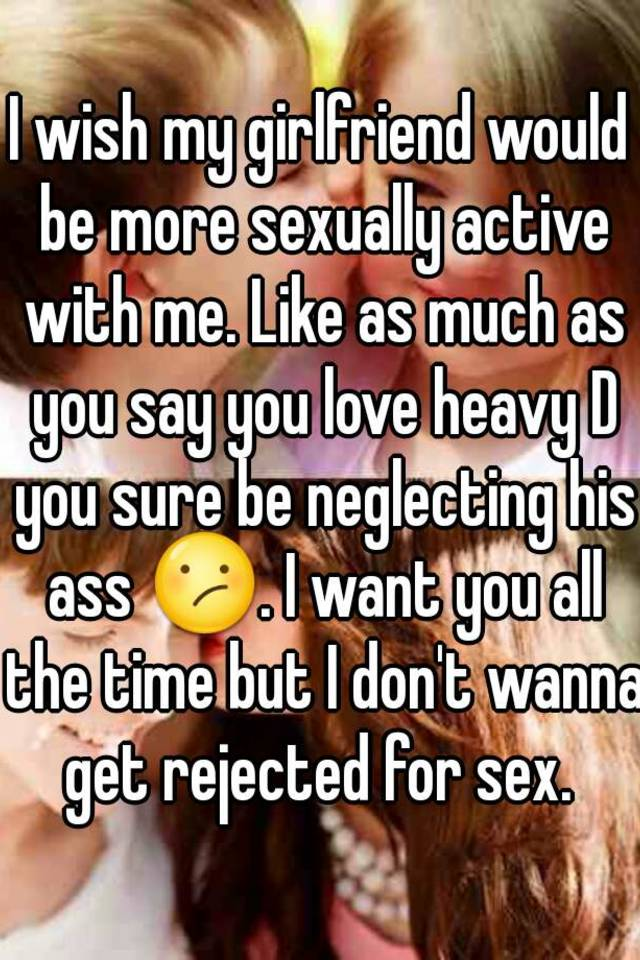 I want to be more sexually active