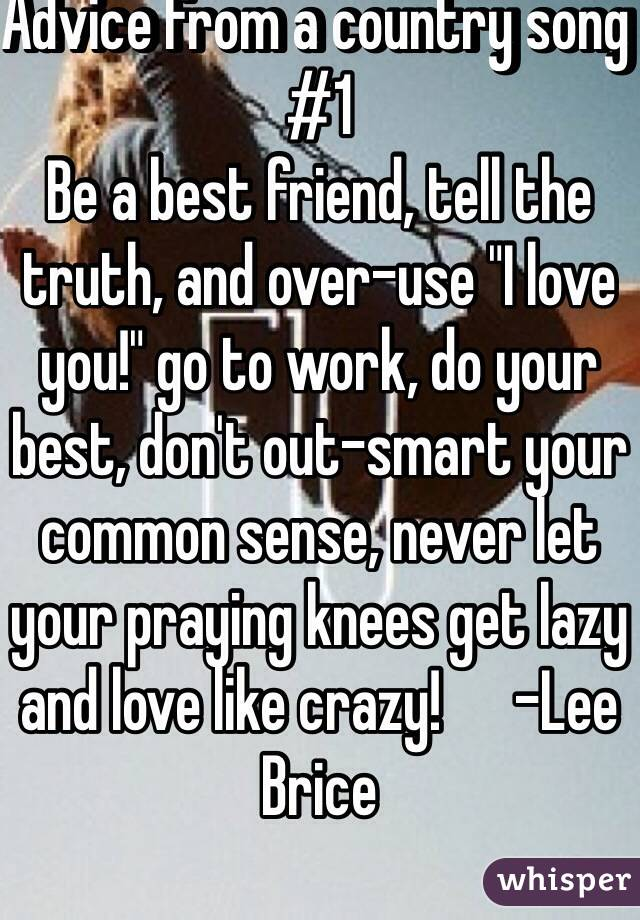 love you like crazy country song