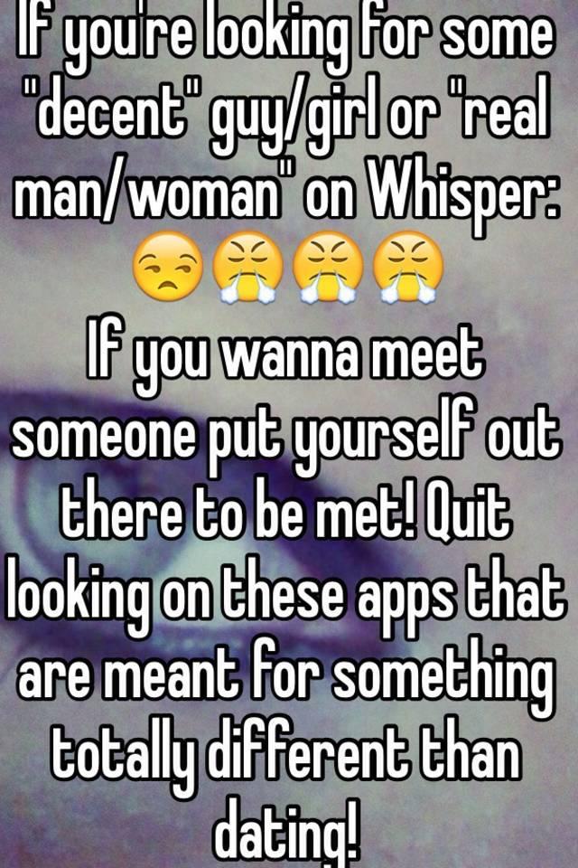 where to meet decent guys