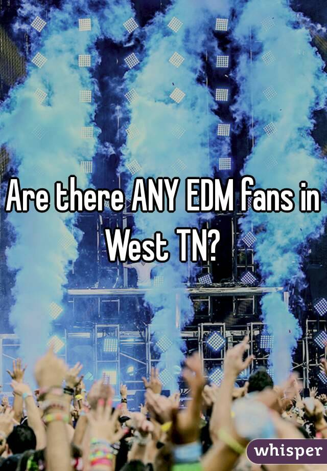 Are there ANY EDM fans in West TN?