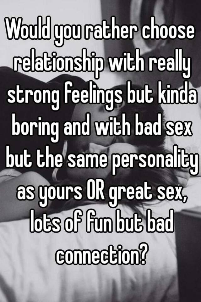 relationship would you rather