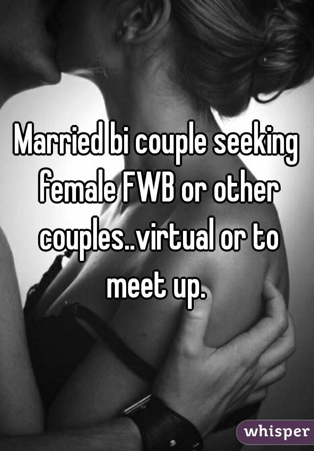 Couple seeking bi woman