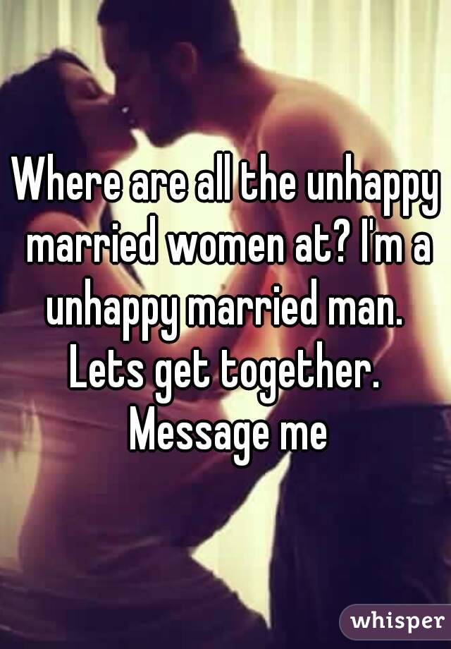 dating unhappy married woman