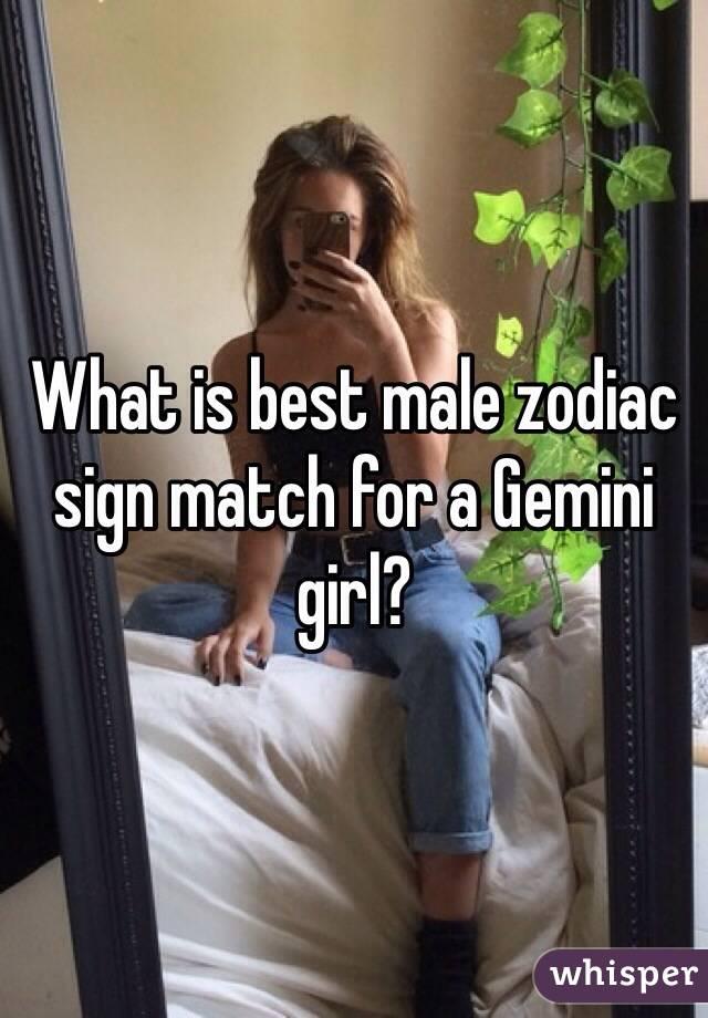 Best match for a gemini girl
