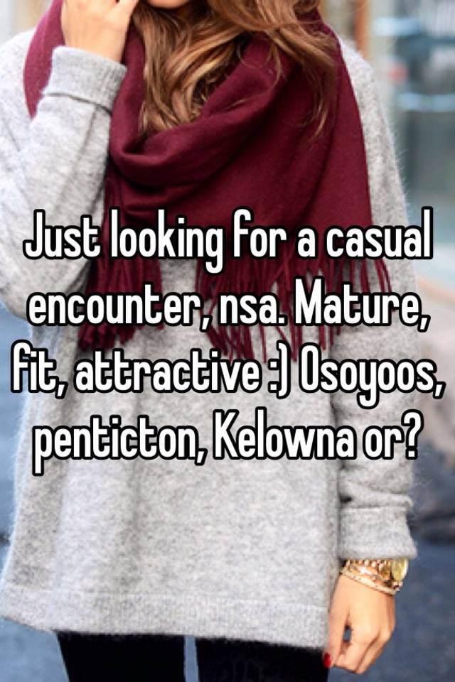 Looking for casual encounter