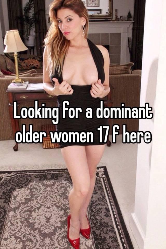 Mature dominant woman story
