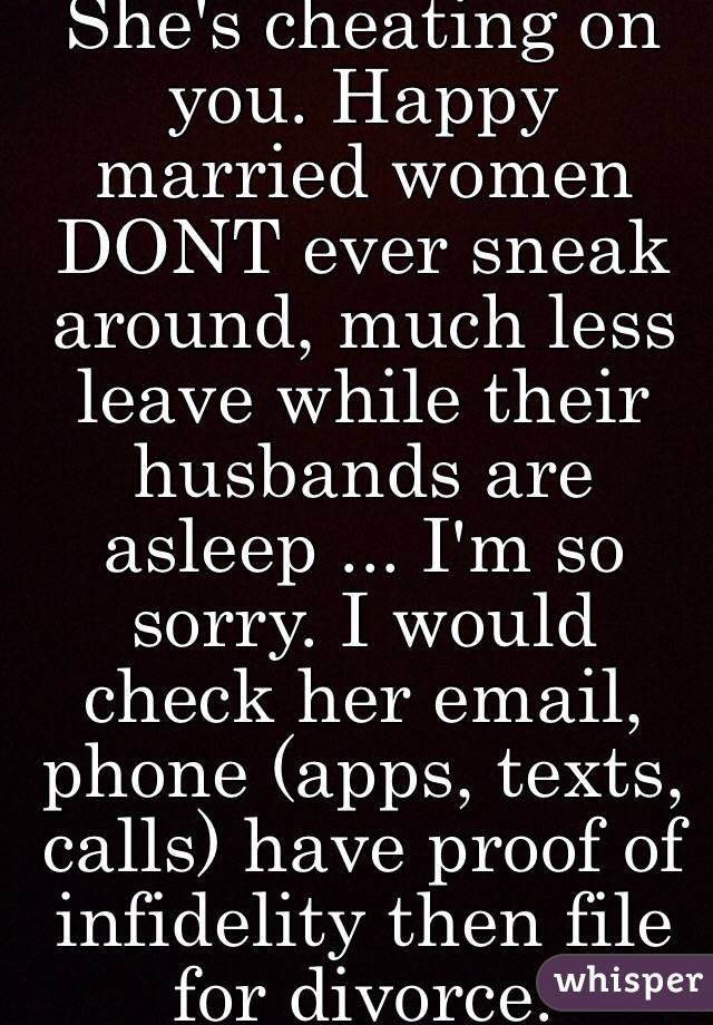 Married Women Who Cheat On Their Husbands