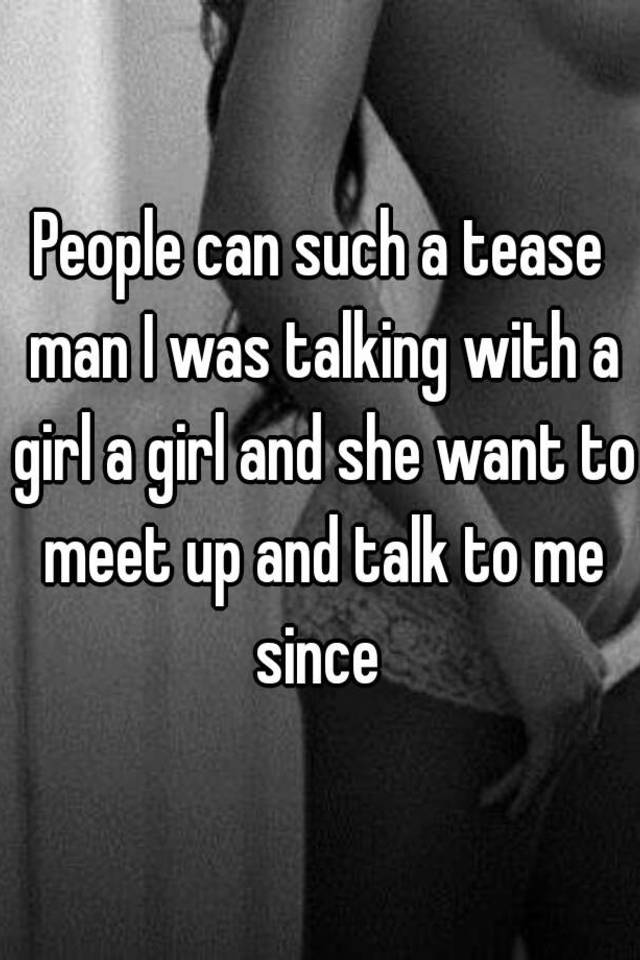 How to meet up with a girl