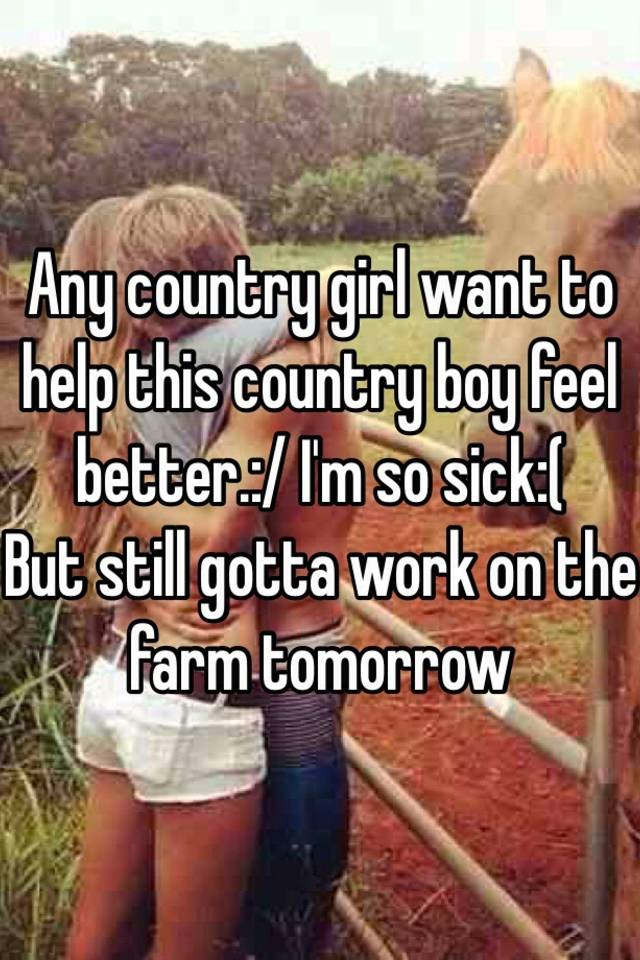 country boys and girls getting down on the farm
