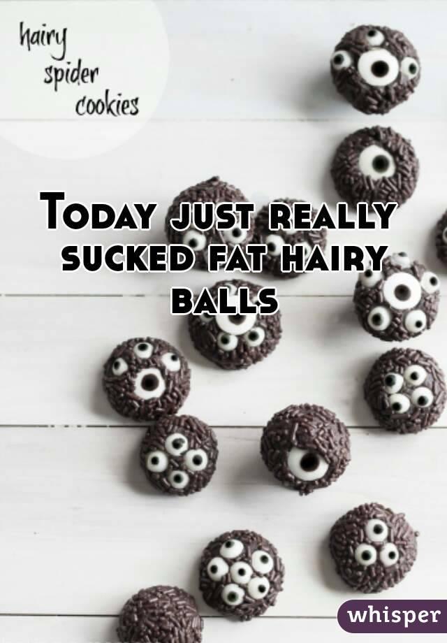 """Hairy balls really """"Hairy Balls"""""""